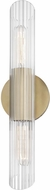 Mitzi H177102S-AGB Cecily Contemporary Aged Brass Wall Lighting