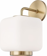 Mitzi H190101-AGB Jenny Modern Aged Brass Wall Sconce Lighting