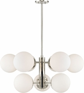 Mitzi H193809-PN Paige Modern Polished Nickel Ceiling Chandelier