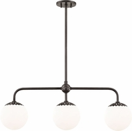 Mitzi H193903-OB Paige Modern Old Bronze Kitchen Island Lighting
