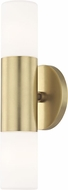 Mitzi H196102-AGB Lola Modern Aged Brass LED Wall Lighting