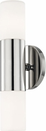 Mitzi H196102-PN Lola Contemporary Polished Nickel LED Sconce Lighting