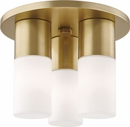 Mitzi H196503-AGB Lola Modern Aged Brass LED Ceiling Lighting Fixture