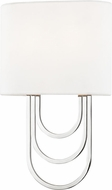 Mitzi H210102-PN Farah Modern Polished Nickel Wall Light Fixture