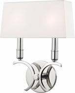 Mitzi H212102S-PN Gwen Modern Polished Nickel 10  Wall Lighting Fixture