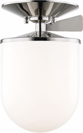 Mitzi H214601L-PN Audrey Contemporary Polished Nickel 7.5 Ceiling Light Fixture