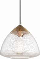 Mitzi H216701L-AGB Maya Contemporary Aged Brass Drop Ceiling Light Fixture