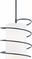 Mitzi H237701L-NVY Carly Contemporary Navy Hanging Light Fixture