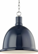 Mitzi H238701L-PN-NVY Blair Contemporary Polished Nickel / Navy Pendant Light