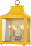 Mitzi H259102-AGB-MG Leigh Contemporary Aged Brass / Marigold Wall Light Fixture