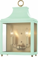Mitzi H259102-AGB-MNT Leigh Modern Aged Brass / Mint Lighting Wall Sconce