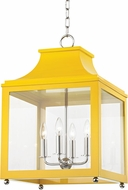 Mitzi H259704L-PN-MG Leigh Modern Polished Nickel / Marigold Pendant Lighting
