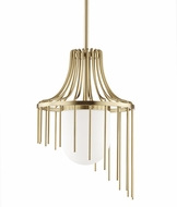 Mitzi H266701L-AGB Kylie Modern Aged Brass Ceiling Pendant Light