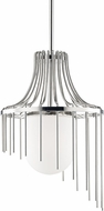 Mitzi H266701L-PN Kylie Contemporary Polished Nickel Drop Ceiling Light Fixture