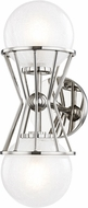 Mitzi H267102-PN Petra Contemporary Polished Nickel Xenon Wall Sconce Lighting