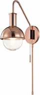 Mitzi HL111101-POC Riley Modern Polished Copper Wall Lighting Fixture
