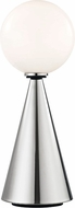 Mitzi HL148201L-PN-BK Piper Modern Polished Nickel / Black LED Lighting Table Lamp