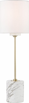 Mitzi HL153201-AGB Fiona Contemporary Aged Brass Lighting Table Lamp
