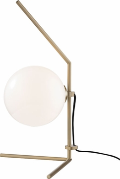 Mitzi HL156201-AGB Tori Contemporary Aged Brass LED Table Lighting