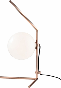 Mitzi HL156201-POC Tori Modern Polished Copper LED Table Top Lamp