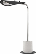 Mitzi HL157201-PN-BK Layla Modern Polished Nickel / Black LED Table Lamp
