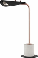 Mitzi HL157201-POC-BK Layla Contemporary Polished Copper / Black LED Table Light