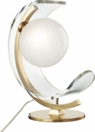 Mitzi HL186201-AGB Arden Modern Aged Brass LED Table Lamp