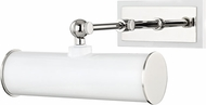 Mitzi HL263201-PN-WH Holly Modern Polished Nickel / White 8  Art Lighting