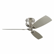 Monte Carlo Fans 3CDR56BS Cannondale Brushed Steel 56  Home Ceiling Fan