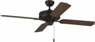 Monte Carlo Fans 4TK52RB Tucker Roman Bronze Outdoor 52  Ceiling Fan