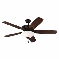 Monte Carlo Fans 5COM52RBD Colony Max Plus Roman Bronze Indoor/Outdoor 52  Home Ceiling Fan