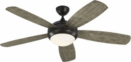Monte Carlo Fans 5DI52AGPD Discus Aged Pewter 52 Home Ceiling Fan