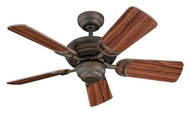 Monte Carlo Fans for Less 5DS34RB Designer Supreme III Roman Bronze 34 Inch Wide Home Ceiling Fan