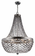Feiss F2915-9PN Malia Polished Nickel Finish 25  Wide Chandelier Lamp