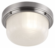 Feiss FM380BS Elliot Brushed Steel Finish 5.375  Tall Ceiling Light Fixture