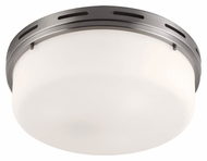 Feiss FM384BS Manning Brushed Steel Finish 5.375  Tall Overhead Lighting Fixture