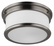 Feiss FM399BS Payne Brushed Steel Finish 5.625  Tall Flush Lighting