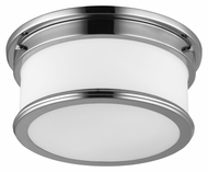 Feiss FM399PN Payne Polished Nickel Finish 5.625  Tall Overhead Lighting
