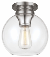 Feiss FM403PN Tabby Vintage Polished Nickel Finish 9.25  Tall Ceiling Lighting