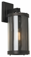 Feiss OL12001ORB Bluffton Oil Rubbed Bronze Finish 18.5  Tall Exterior Wall Light Fixture