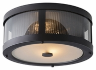 Feiss OL12013ORB Bluffton Oil Rubbed Bronze Finish 13.25 Wide Outdoor Ceiling Lighting