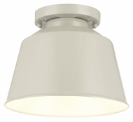 Feiss OL15013HGG Freemont Modern Hi Gloss Grey Finish 9  Wide Outdoor Ceiling Lighting Fixture