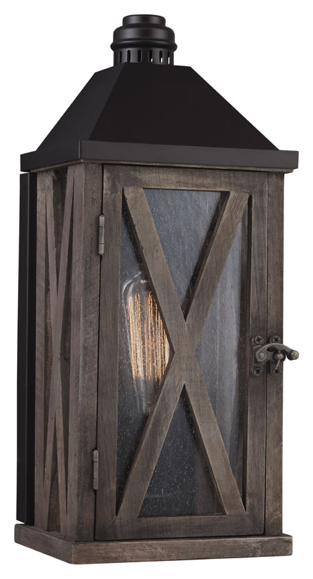 Rustic Outdoor Wall Lighting Feiss ol17000dwo orb lumiere rustic dark weathered oak oil rubbed feiss ol17000dwo orb lumiere rustic dark weathered oak oil rubbed bronze finish 65nbsp loading zoom workwithnaturefo
