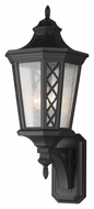 Feiss OL9505TXB Wembley Park Traditional Textured Black Finish 10.125 Wide Outdoor Wall Lighting