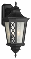 Feiss OL9506TXB Wembley Park Traditional Textured Black Finish 23.5 Tall Exterior Sconce Lighting