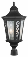 Feiss OL9508TXB Wembley Park Traditional Textured Black Finish 11.625  Wide Outdoor Post Lighting