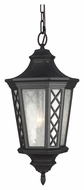 Feiss OL9511TXB Wembley Park Traditional Textured Black Finish 23.75  Tall Exterior Drop Lighting