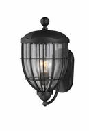 Feiss OL9802TXB River North Traditional Textured Black Finish 9.125 Wide Outdoor Lighting Sconce