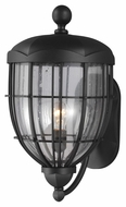 Feiss OL9804TXB River North Traditional Textured Black Finish 20.5 Tall Exterior Lamp Sconce