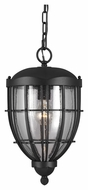 Feiss OL9811TXB River North Traditional Textured Black Finish 9.125 Wide Outdoor Drop Ceiling Lighting